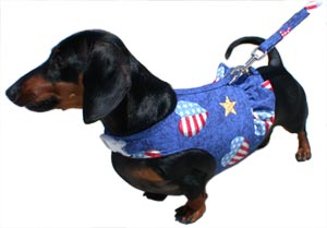 Dachshund Harness- custom small dog harnesses for your wiener dog